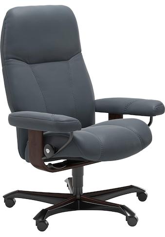 Stressless® Relaxsessel »Consul«, mit Home Office Base, Größe M, Gestell Braun kaufen