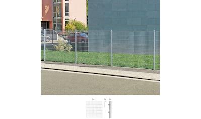 GAH Alberts Doppelstabmattenzaun, 120 cm hoch, 5 Matten für 10 m, 6 Pfosten kaufen