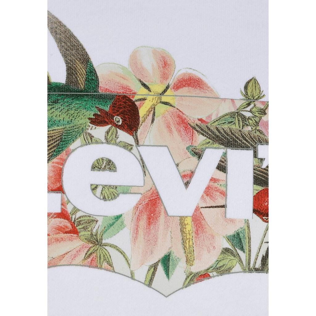 Levi's® Hoodie »Graphic Standard Hoodie«, mit floralem Batwing-Logo-Print