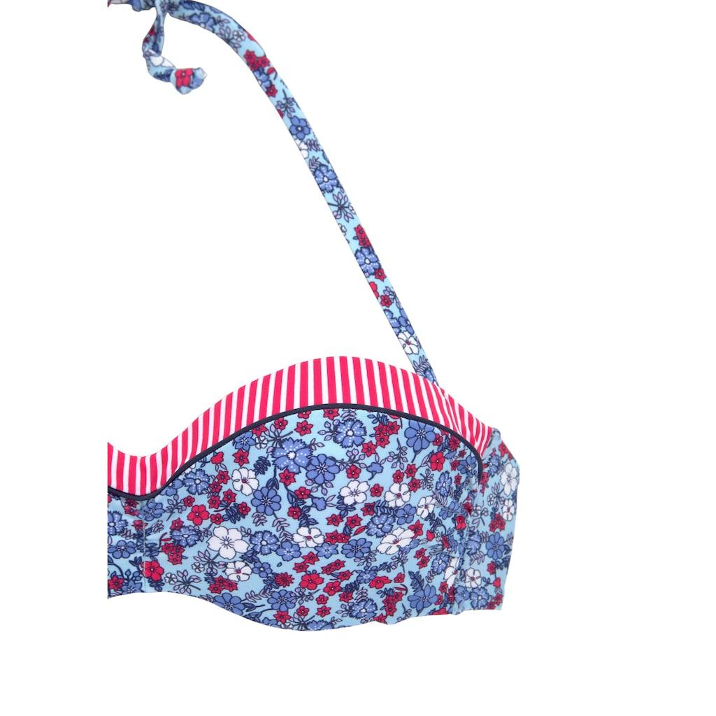 s.Oliver Bandeau-Bikini-Top »Jill«, mit Mustermix