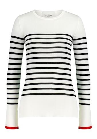 Nicowa Langarmshirt »AJONA«, mit Allover-Muster - AJONA kaufen