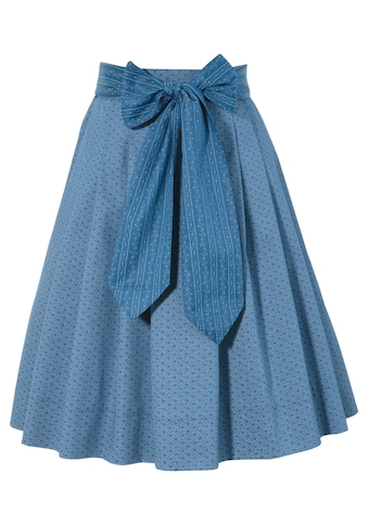 Turi Landhaus Trachtenrock, Kinder, mit süßem Streublumen-Muster kaufen