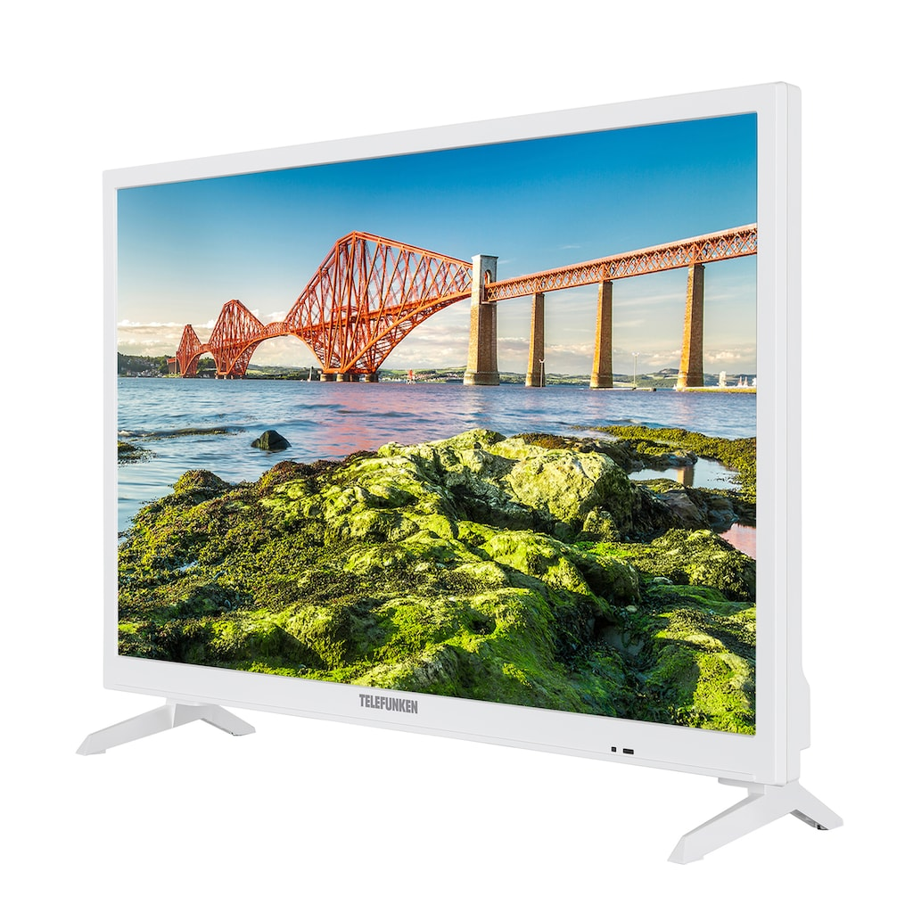 "Telefunken LED-Fernseher »XH24J501VD-W«, 60 cm/24 "", HD-ready, Smart-TV"