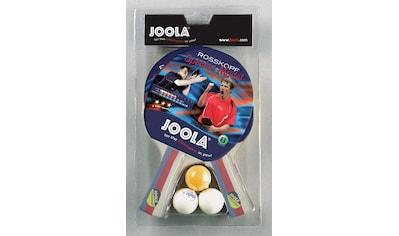 Joola Tischtennisschläger »Rossi«, (Packung, 5 tlg., mit Bällen) kaufen