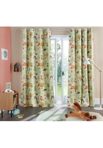 Lüttenhütt Vorhang »Waldtiere« kaufen