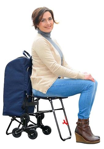 Wenko Einkaufs-Trolley mit Sitz kaufen