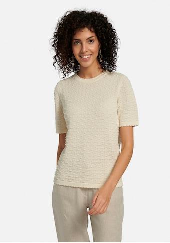 Peter Hahn Kurzarmpullover »Rundhals-Pullover aus 100% SUPIMA®-Baumwolle«, keine/nicht... kaufen