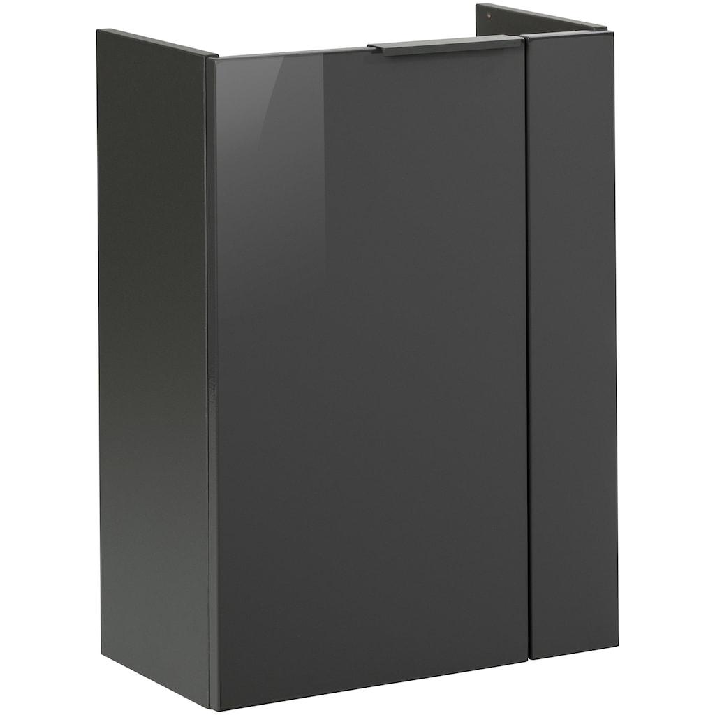 FACKELMANN Waschbeckenunterschrank »Luna«, Tür links und rechts montierbar