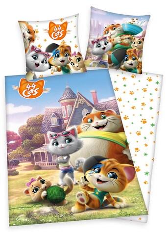Kinderbettwäsche »44 Cats«, mit fröhlichem 44 Cats-Motiv kaufen