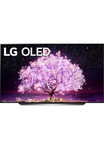 """LG OLED-Fernseher »OLED83C17LA«, 210 cm/83 """", 4K Ultra HD, Smart-TV, (bis zu 120Hz)-α9... kaufen"""
