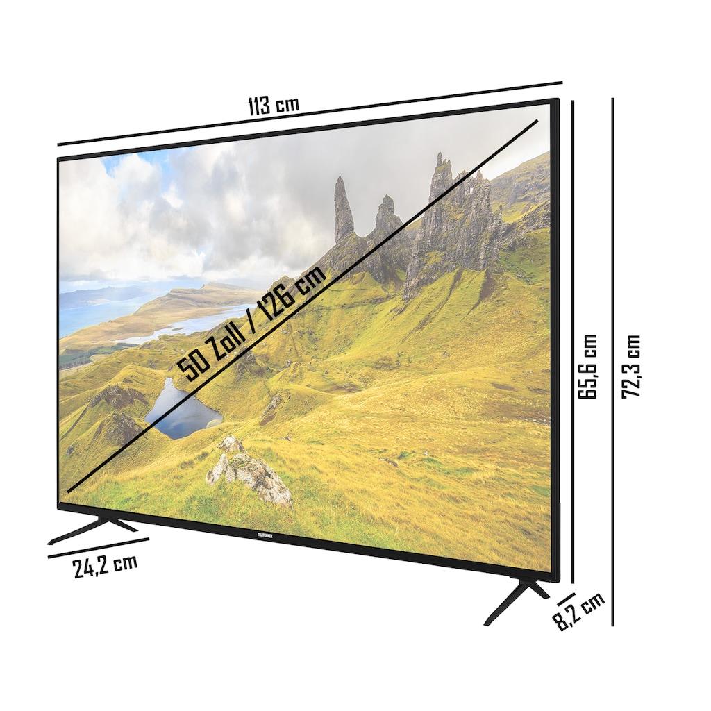 """Telefunken LED-Fernseher »XU50K521«, 126 cm/50 """", 4K Ultra HD, Smart-TV"""