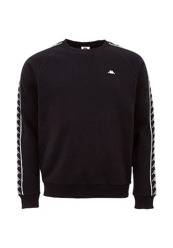 Kappa Sweatshirt »AUTHENTIC HARRIS«, mit hochwertigem Logowebband am Ärmel kaufen