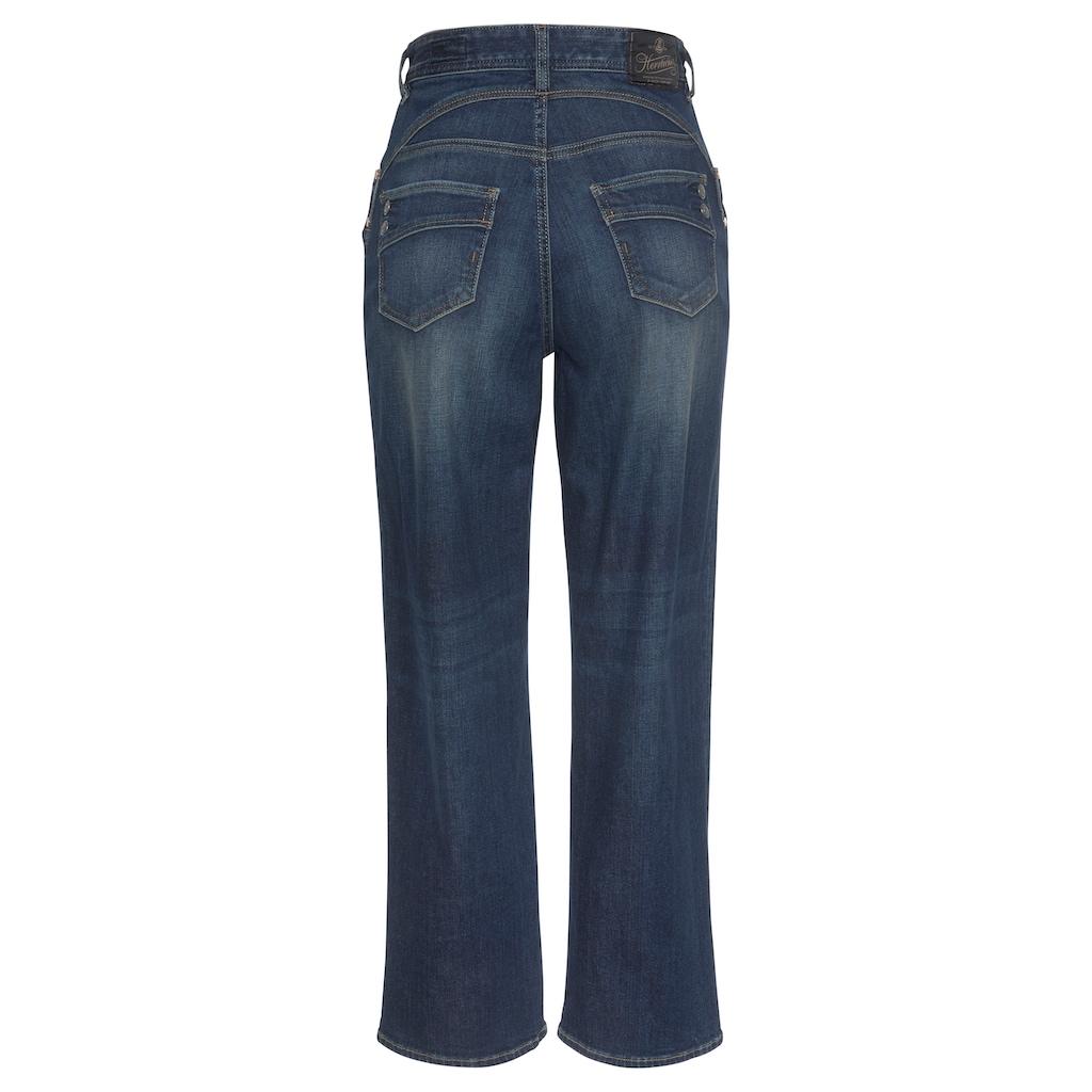 Herrlicher High-waist-Jeans »PIPER HI TAP«