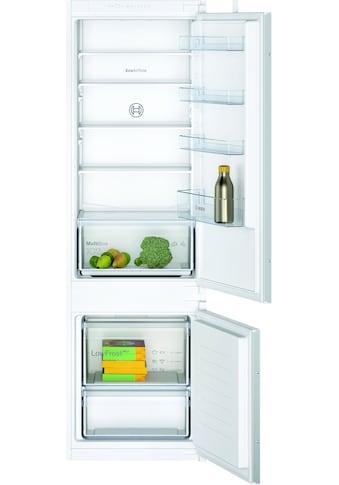 BOSCH Einbaukühlgefrierkombination, 2 kaufen