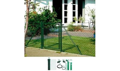 GAH Alberts Maschendrahtzaun, 80 cm hoch, 50 m, grün beschichtet, zum Einbetonieren kaufen
