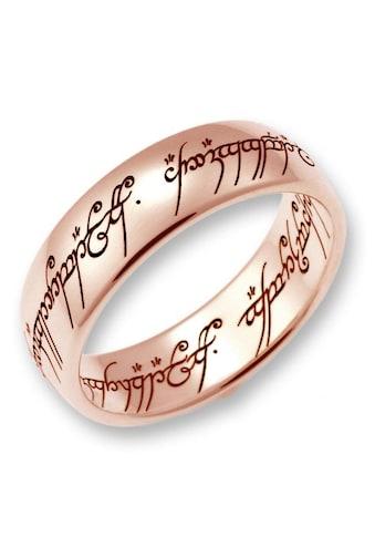 Der Herr der Ringe Goldring »Der Eine Ring - Rotgold, 10004077, 10004078, 10004079«,... kaufen