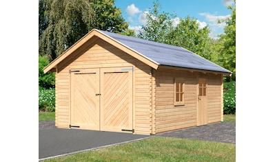 KARIBU Garage »Christian«, BxT: 435x572 cm, Einfahrtshöhe: 193 cm kaufen