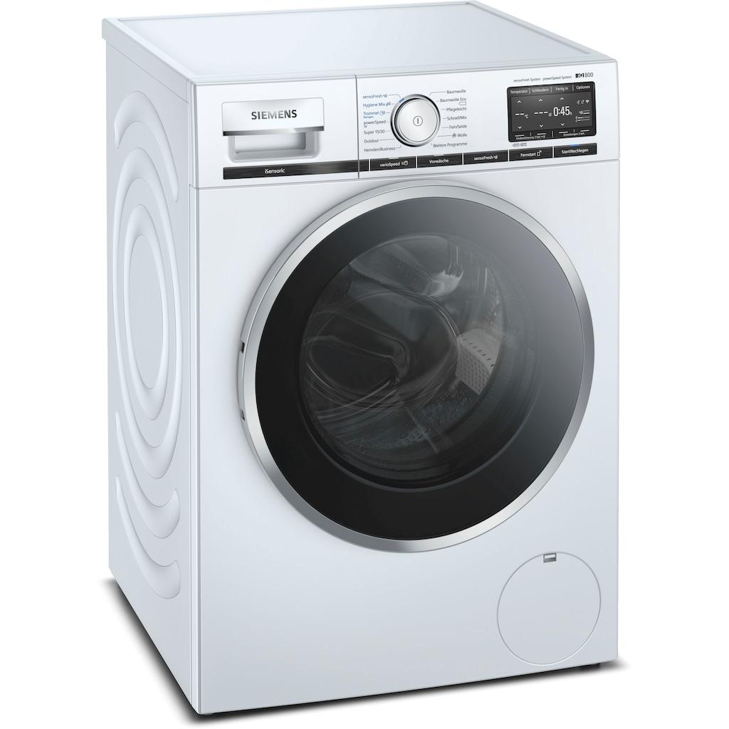 SIEMENS Waschmaschine, WM16XF40, 9 kg, 1600 U/min