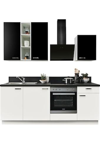 Express Küchen Küchenzeile »Bari«, mit E-Geräten, Soft-Close-Funktion und Vollauszug,... kaufen