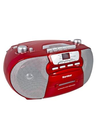 "Karcher Stereo-CD Player »RR 5040-R ""Oberon""« kaufen"