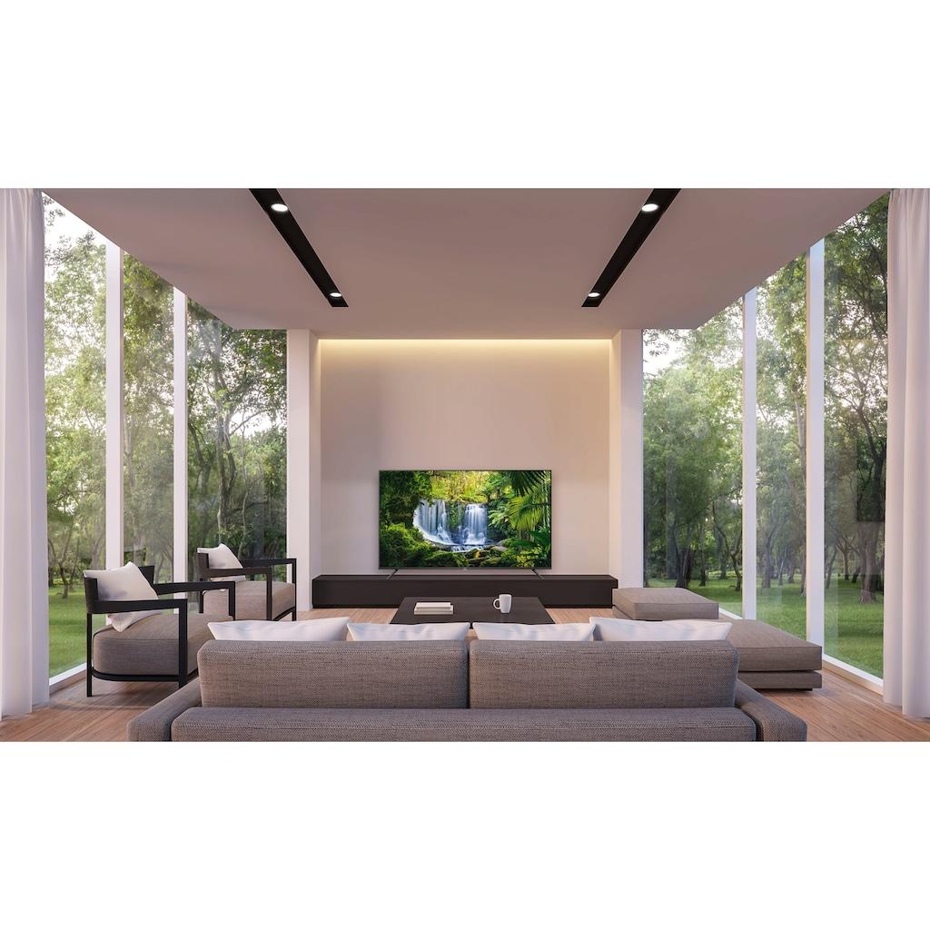 "TCL LED-Fernseher »75P616«, 189 cm/75 "", 4K Ultra HD, Smart-TV, Android 9.0 Betriebssystem"