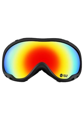 YEAZ Skibrille »CLIFF«, schwarz kaufen
