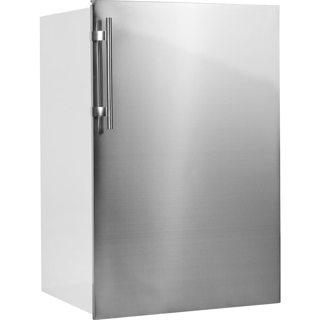 Amica Einbaukühlschrank »EKS 361 190 E«, mit Edelstahltür