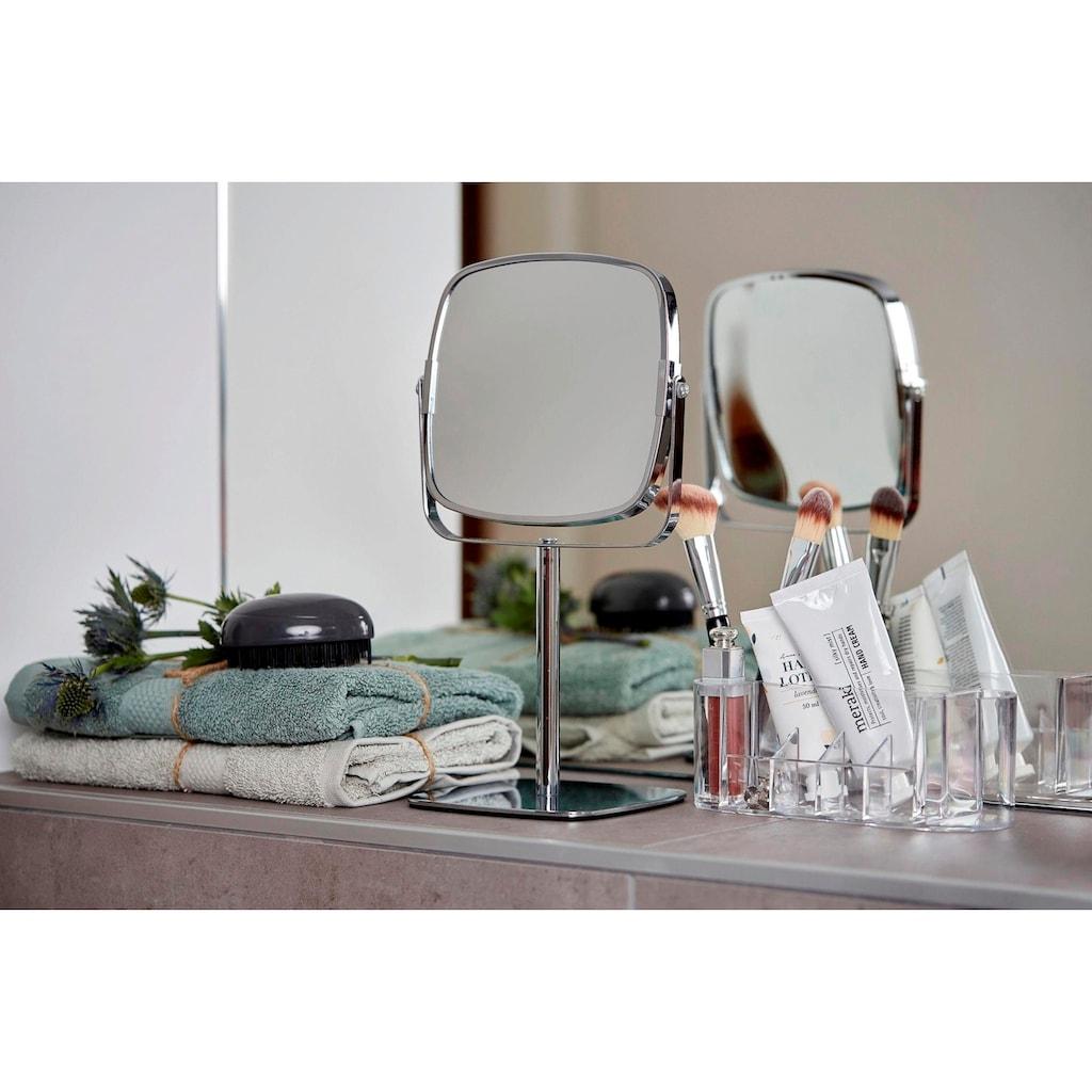 WENKO Kosmetikspiegel »Kare«, 5-fach Vergrößerung