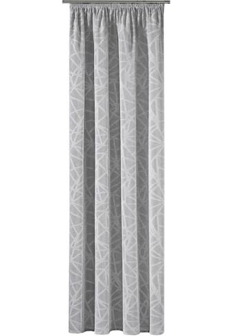 Gerster Vorhang »Joachim«, HxB: 235x140, Scherli Schlaufenschal mit Kräuselband kaufen
