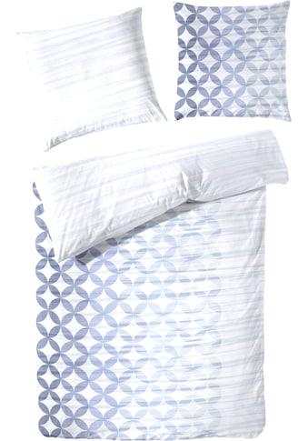 Primera Wendebettwäsche »Gardient Circle«, mit modernem und auffälligem Muster kaufen