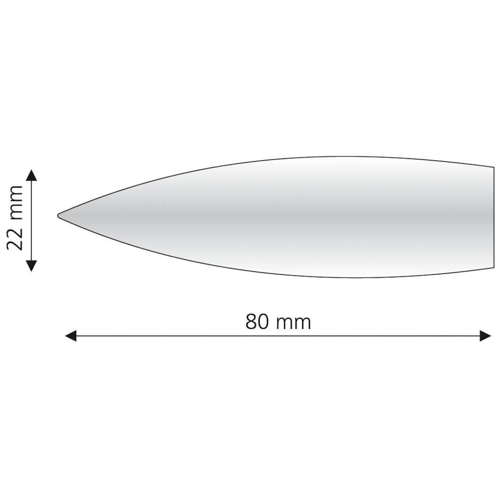 Liedeco Gardinenstangen-Endstück »Bullet«, für Gardinenstangen Ø 16 mm