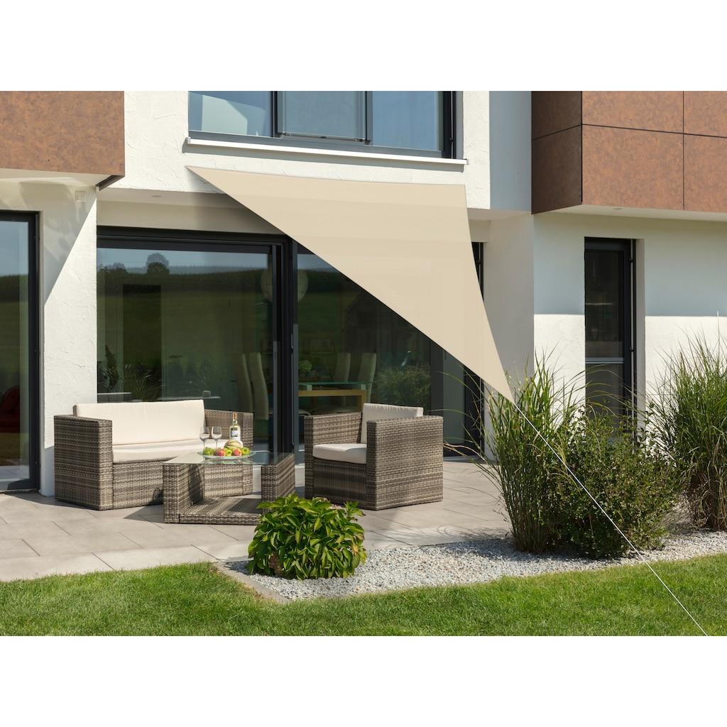 Schneider Schirme Sonnensegel »Lanzarote«, ca. 400 x 400 x 300 cm