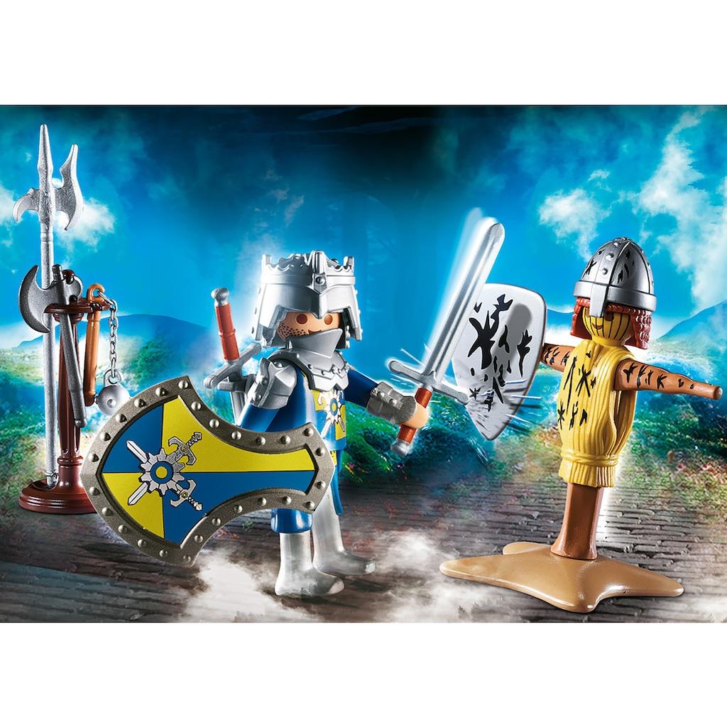 Playmobil® Konstruktions-Spielset »Ritter mit Kanone (9441), Special Plus und Geschenkset Ritter (70290), Knights«, (Set, 2 St.), Made in Europe
