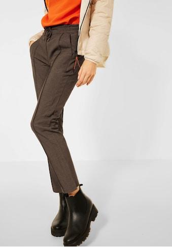 Cecil Bügelfaltenhose »Style Tracey«, in Schlupfform kaufen