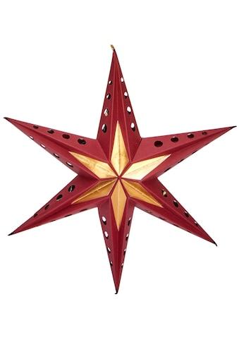LED Stern »Papierstern mit 6 Zacken«, Neutralweiß, Durchmesser ca. 60 cm kaufen