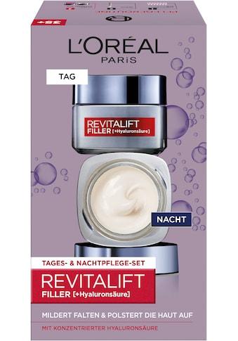 L'ORÉAL PARIS Gesichtspflege-Set »RevitaLift Filler HA Tag und Nacht«, (2 tlg.),... kaufen