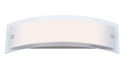 Brilliant Leuchten Elysee Wandleuchte 2flg edelstahl/weiß kaufen
