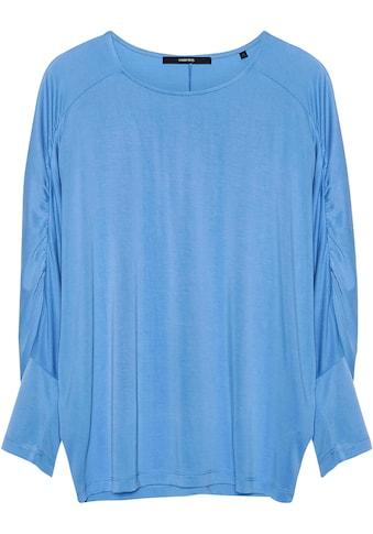 someday Oversize-Shirt »Kiyuni«, mit Raffung an den Fledermausärmeln kaufen