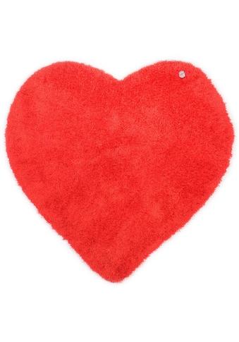 TOM TAILOR Kinderteppich »Soft Herz«, herzförmig, 35 mm Höhe, super weich und... kaufen