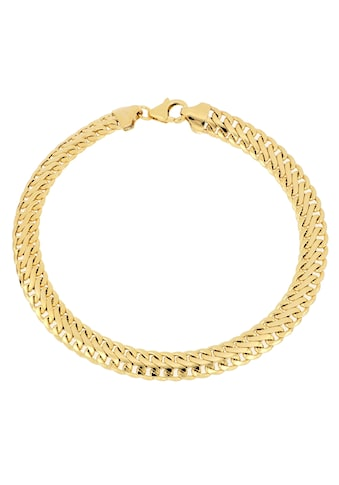 Firetti Goldarmband »Achterkettengliederung, 6,5 mm breit, glänzend, bombiert« kaufen