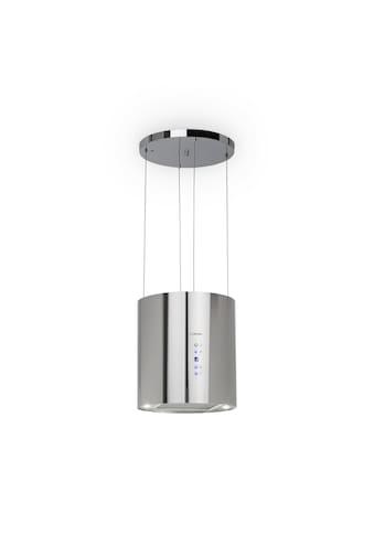Klarstein Inselabzugshaube Ø35cm Umluft 590m³/h LED Aktivkohlefilter kaufen