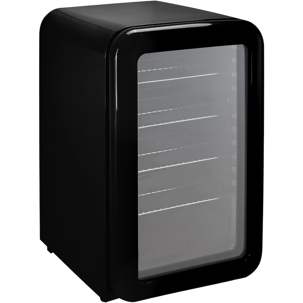 Hanseatic Getränkekühlschrank »HBC115FRBH black«