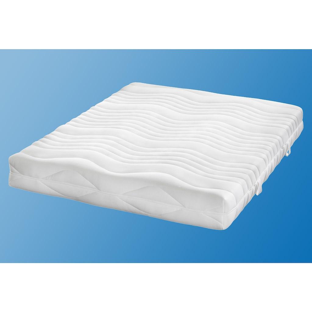 my home Komfortschaummatratze »Übergrößen«, 20 cm cm hoch, Raumgewicht: 30 kg/m³, (1 St.), anpassungsfähiger Kern mit Konturenschnitt für ideale Körperunterstützung