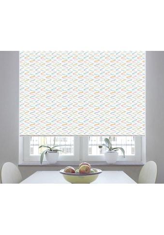 sunlines Seitenzugrollo nach Maß »Sonata Print«, verdunkelnd, freihängend kaufen