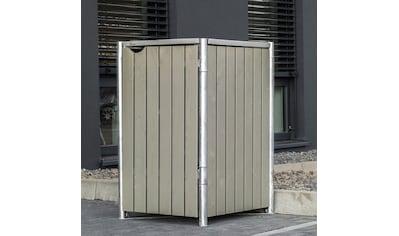 Hide Mülltonnenbox, für 1 x 120 l, grauxnatur kaufen
