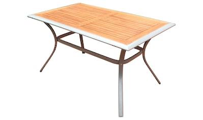 MERXX Gartentisch »Siena«, 80x140 cm kaufen