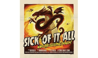 Musik-CD »Wake The Sleeping Dragon! / Sick Of It All« kaufen