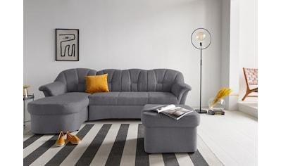 DOMO collection Ecksofa »Papenburg«, in großer Farbvielfalt, wahlweise mit Bettfunktion kaufen