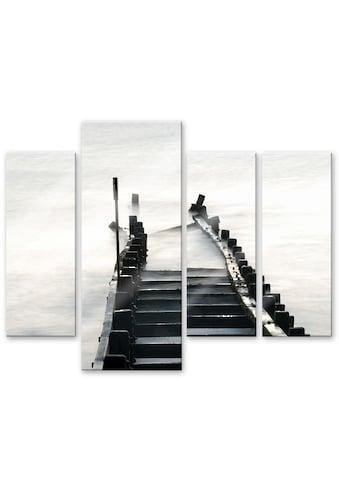 Wall-Art Mehrteilige Bilder »Way to nowhere (4-teilig)«, (Set, 4 St.) kaufen