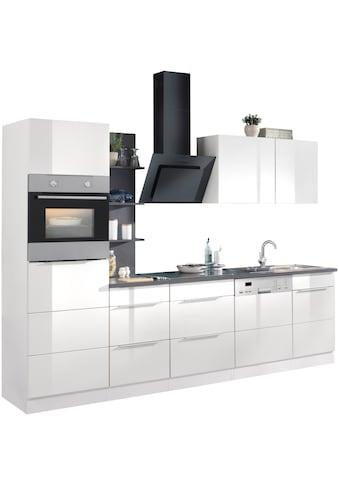 HELD MÖBEL Küchenzeile »Brindisi«, mit E-Geräten, Breite 280 cm kaufen